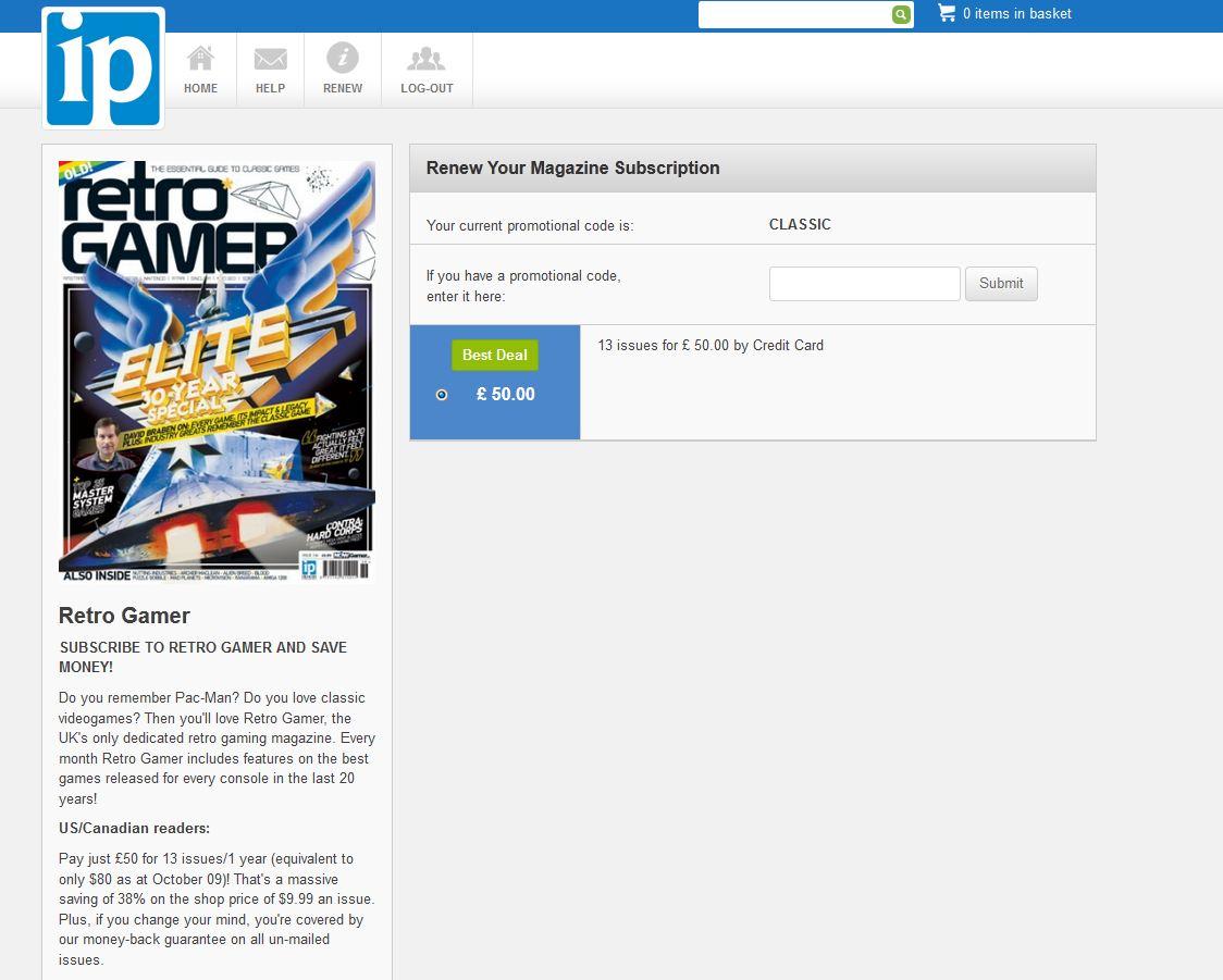 Deals on Retro Gamer Magazine? - Deal Requests & Advice - Cheap Ass